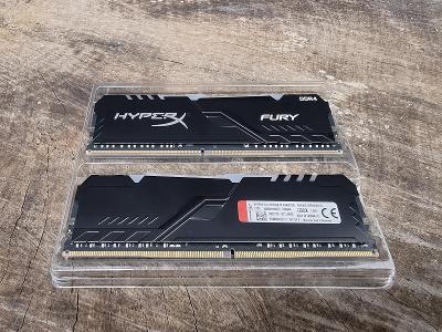 HyperX Fury RGB DDR4 32GB (2x16GB) 3600MHz CL18