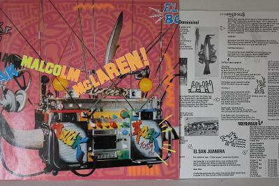Malcolm McLaren – Duck Rock LP 1983 vinyl jako nove NM ex Sex Pistols