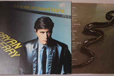 Bryan Ferry – The Bride Stripped Bare LP 1978 vinyl Canada Roxy Music