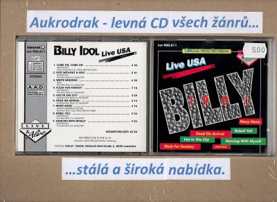 CD/Billy Idol-Live USA