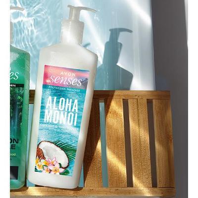 Krémový sprchový gel Aloha Monoi 720 ml