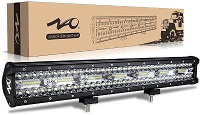Přídavné pracovní LED světlo 420W, dvojí svit, 12V, 24V, 36V, IP68