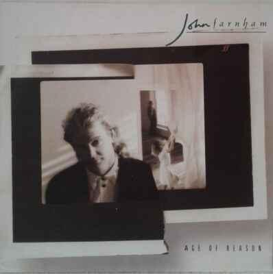 LP John Farnham - Age Of Reason, 1988 EX