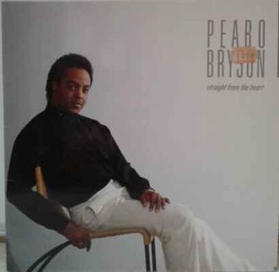 LP Peabo Bryson - Straight From The Heart, 1984 EX