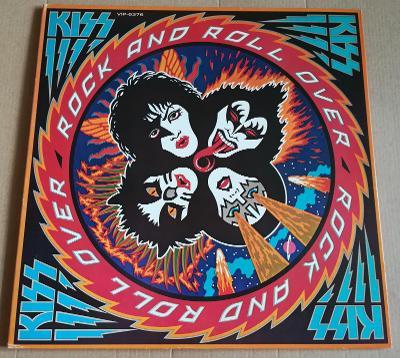 LP KISS-ROCK'N'ROLL OVER /EX++, TOP STAV, 1976,JAPAN, PŘÍLOHA
