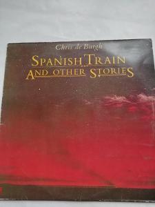 LP CHRIS DE BURGH - SPANISH TRAIN AND OTHER STORIES