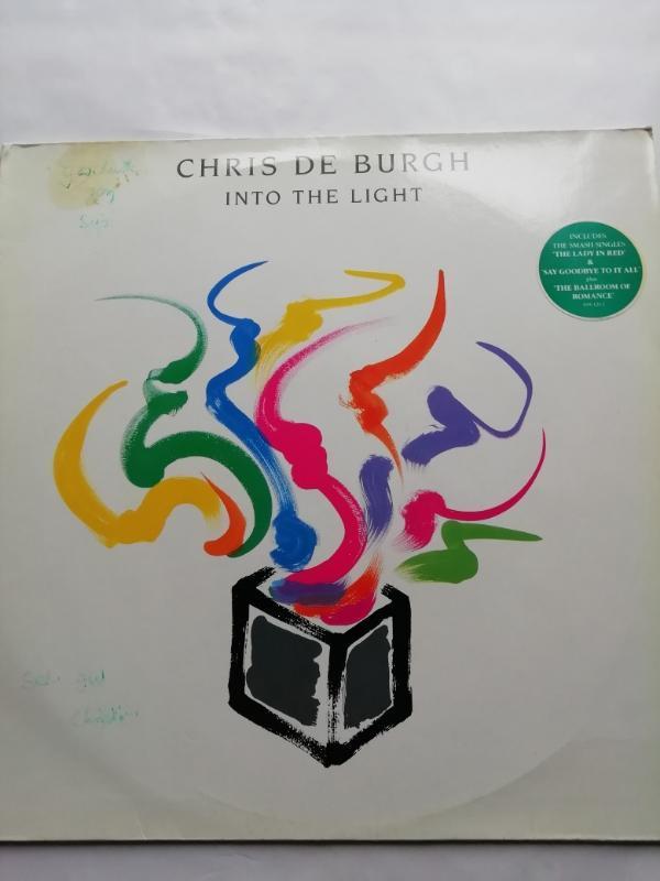 LP CHRIS DE BURGH - INTO THE LIGHT  - Hudba