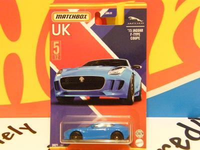 6/2021 UK  ´15 JAGUAR F-TYPE COUPE - MATCHBOX