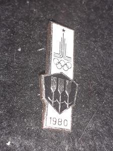 Odznak LOH MOSKVA 1980 - VESLOVÁNÍ
