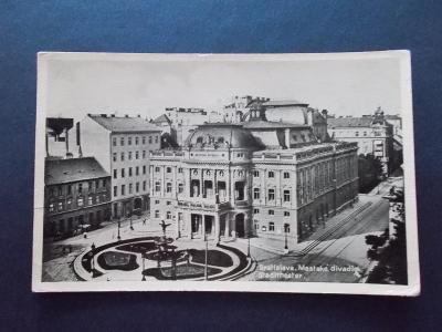Slovensko Bratislava divadlo centrum města
