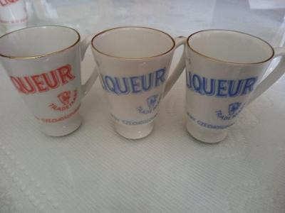 Sklenice porcelánové 3ks Jan Becher