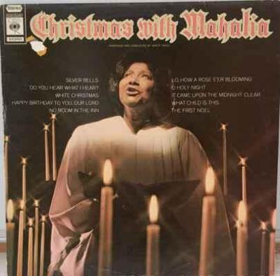 LP Mahalia Jackson - Christmas With Mahalia