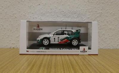 1/43 Škoda Fabia WRC - KADEN