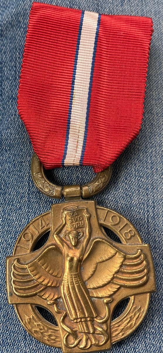 Medaile Československo 1914-1918  - Faleristika