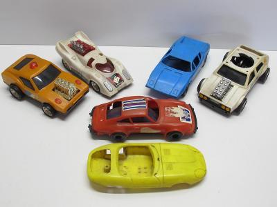 Staré retro hračky - AUTA