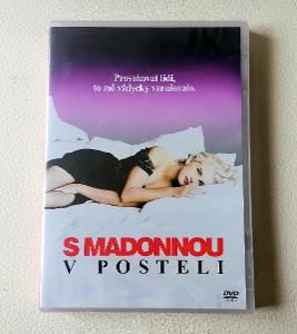 MADONNA - S Madonnou v posteli - DIGI DVD - 2013 - NOVÉ FOLIE