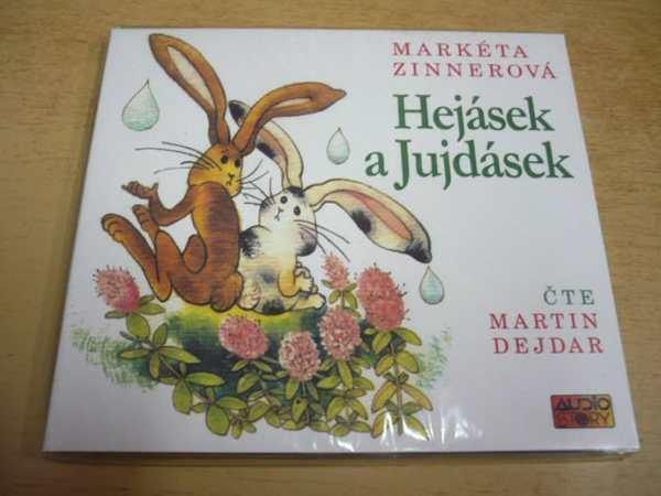 CD M. ZINNEROVÁ / Hejásek a Jujdásek / NOVÉ - Hudba