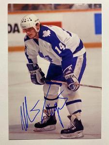 Autogram - Miroslav Fryčer - Toronto Maple Leafs NHL