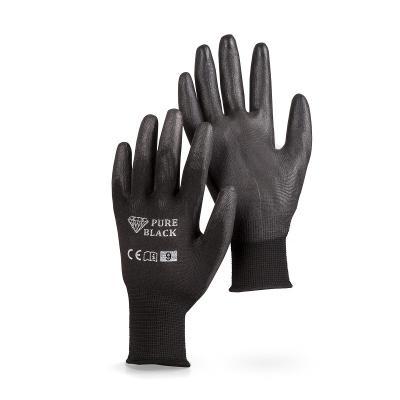 Rukavice Pure Black vel. 9, 1 pár (30445)