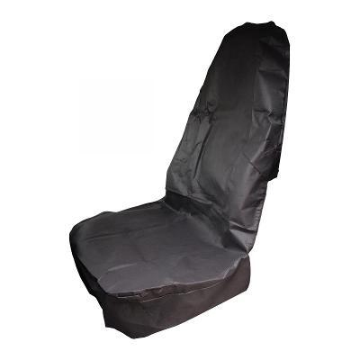 Autopotah na přední sedadlo černé (30780)