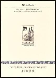 POF. PTV 1 - PAMĚTNÍ TISK CHOMUTOV 2015 (S2505)