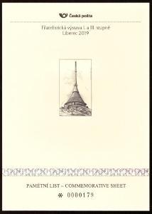 POF. PTV 5 - PAMĚTNÍ TISK LIBEREC 2019 (S2507)