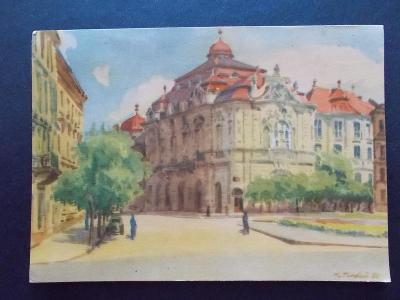 Slovensko Bratislava Reduta  Tvar umělecká malíř Tvrdon