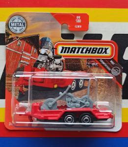 MBX Cycle Trailer Chopper motorcycle MB 99/100 Matchbox