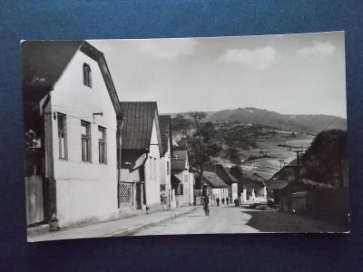 Pohled Slovensko Rimavská sobota Tisovec Stalinova ulica