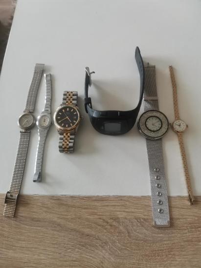 Retro hodinky 27ks + 7 opasku - nálezový stav - Starožitnosti