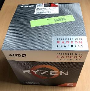 Nový Boxovany chladič, AMD Ryzen 5 3400G, AM4, 4pin, Wraith Stealth
