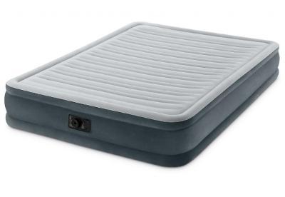 Nafukovací postel vysoká COMFORT-PLUSH s zabudovanou elektrickou pumpo