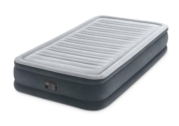 Nafukovací postel vysoká COMFORT-PLUSH s zabudovanou elektrickou pumpo - Turistika a cestování