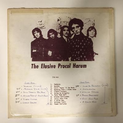 Procol Harum – The Elusive Procol Harum - LP vinyl