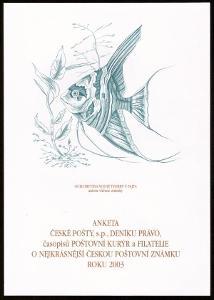 POF. AČP 10 - SUVENÝR NEJKRÁSNĚJŠÍ ZNÁMKA ROKU 2003 (S2515)