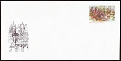 POF. CSO 3 - SLUŽEBNÍ CELINOVÁ OBÁLKA + NOVOROČENKA PF 1998 (S2520)