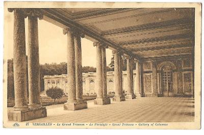 Pohlednice, Versailles, Francie, MF, 104/69