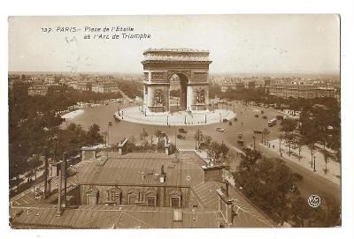 Pohlednice, Paříž, Francie, MF, 104/69