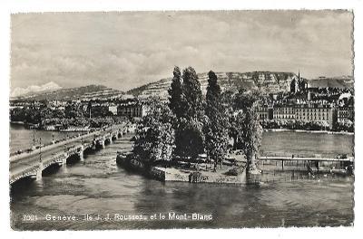 Pohlednice, Ženeva, Švýcarsko, MF, 104/69