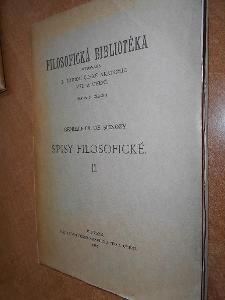 Spinoza B. - Spisy filosofické II. - 1932