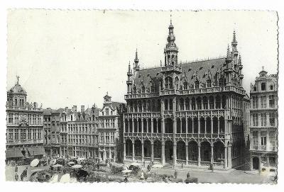 Pohlednice, Brusel, Belgie, MF, 104/69