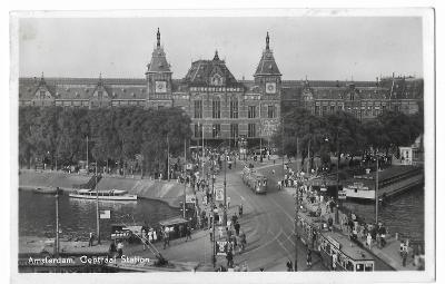 Pohlednice, Amsterdam, Nizozemsko, MF, 104/69
