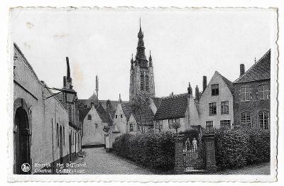 Pohlednice, Kortrijk, Belgie, MF, 104/69