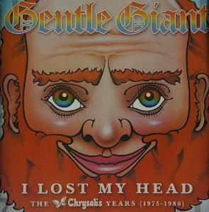 4 CD GENTLE GIANT I Lost My Head CHRYSALIS YEARS 75 - 80