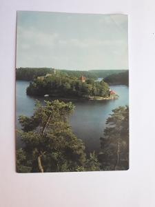 Zvíkov - soutok Otavy a Vltavy- pohled VF