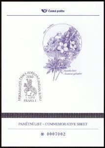 POF. AČP 17 - ANKETA NEJKRÁSNĚJŠÍ ZNÁMKA 2010 (S2600)