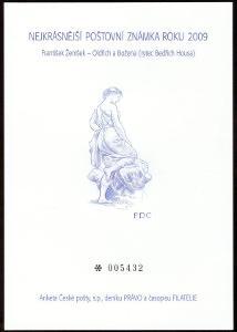 POF. AČP 16 - ANKETA NEJKRÁSNĚJŠÍ ZNÁMKA 2009 (S2601)