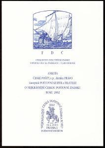 POF. AČP 9 - ANKETA NEJKRÁSNĚJŠÍ ZNÁMKA 2002 (S2608)