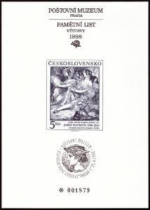 POF. PTM 11 - PŘÍLEŽ. TISK POŠTOVNÍHO MUZEA - J. NAVRÁTIL (S2627)