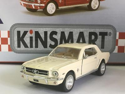 1964 Ford Mustang - otevírací pull-back - 1/36 12,5cm Kinsmart